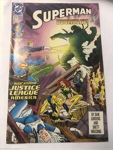 Superman # 74 (Dec 1992, DC Comics) Doomsday !