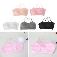 Soft Cotton Bra for Young Girls Kid Underwear Training Puberty Bras Teen Tops
