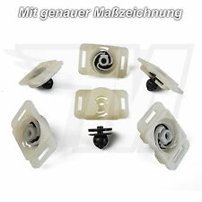 5 x clips del panel de puerta y soporte para VW Golf Passat Caddy Jetta | 6Q0868297