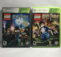 LEGO Harry Potter Lot of 2: Years 1-4, 5-7 (Microsoft Xbox 360) Ships Free
