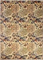 Rugstc 5.5x8 Senneh Chobi Ziegler White Area Rug,Natural dye, Hand-Knotted,Wool