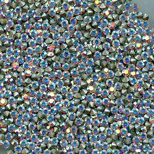 1028 PP24 CI *** 40 strass Swarovski  fond conique 3,1mm CRYSTAL AB F