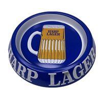 Vintage 1960s Harp Lager Unused Brewery Steel Ashtray Harp Beer Stein Large