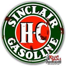 """12"""" RUSTY SINCLAIR HC GASOLINE GAS DECAL"""