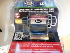 New Gravity Feed Micro Electric Fuel Pump-Base Mr Gasket 42S