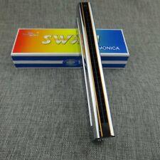 Swan SW24-12 Double Side C & G Keys 24 Holes Tremolo Harmonica in paper box