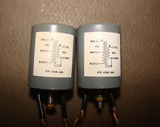 Pair, Gates Microphone Input Transformers, from Stereo 80 Broadcast Mixer