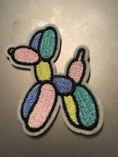 Balloon Dog Multi Colored Embroidered Iron/Sew On Patch 2�x 2.25� Dog Cute New