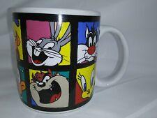 New ListingVtg 1993 Warner Bros Looney Tunes Mug By Sakura Bugs, Daffy, Coyote,Tweety Etc