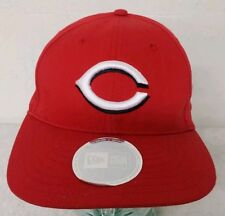 CINCINNATI REDS *New Era* Retro (RED) Snapback Flat Hat/Cap *NWT* *FREE SHIP*
