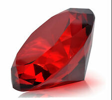 1PC 22CT Conical shape Ruby Red Garnet Zircon Diamonds Round Cut Loose Gemstones