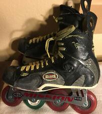 New ListingMission Proto VsiInline Roller Hockey Skates Size 11D 7.5 Stiffness