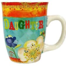 Carson Homes Coffee Mug Cup 14 oz Ceramic Colorful Daughter