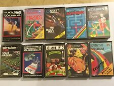 "10 RARA Sinclair ZX81 16K NASTRO Games mazogsblack Star Foro Cosmic GUERRIGLIA GULP"""