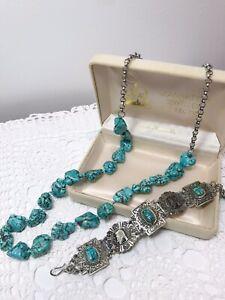 Estate Turquoise-coloured Jewellery