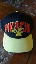 Pokemon Pikachu Game Freak Yellow/Black Baseball Cap Hat Anime