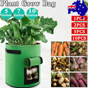 Potato Grow Bags Plant Container DIY Planter Fabrics Pots Vegetable Garden Tools