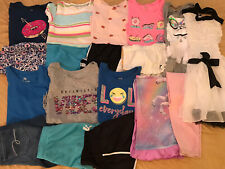 Huge Lot Girls Clothing Size 14-16 14 16 EUC Justice Outfits Shorts Shirts Dress