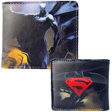 New Mens Marvels Batman Vs Superman Dawn of Justice Bifold Wallet Purse anwall6