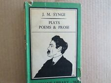 J.M.Synge. Plays, Poems and Prose. Everyman's Library 968 hardback 1941