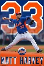 "Trends International New New York Mets Matt Harvey Wall Poster 22.3"" x 34"""
