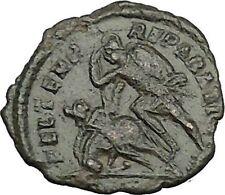 CONSTANTIUS GALLUS 351AD Roman Caesar RARE Ancient Coin BATTLE Horse man i39377