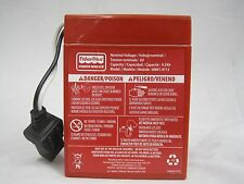 Power Wheels Harley Battery Red 6 volt Fisher Price Genuine Brand New