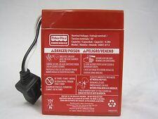 Power Wheels Harley Battery Red 6 volt Fisher Price Genuine Brand New