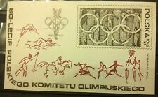 POLAND STAMPS MNH 1Fibl61 ScB136 Mibl74 block - Olympic Committee,1979,clean