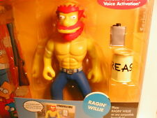 2003 The SIMPSON`s interactive figure WOS series 8  RAGIN` WILLIE
