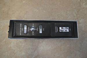 1993 Cadillac Coupe DeVille Passenger Window & Mirror Controls