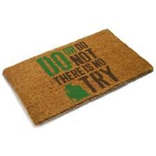 Paillassons, tapis de sol marron pour la maison, 70 cm x 70 cm