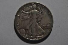 Very Fine Plus 1942-S Silver Walking Liberty Half Dollar!