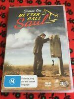 BETTER CALL SAUL - SEASON ONE - DVD - REGION 4 - BRAND NEW SEALED