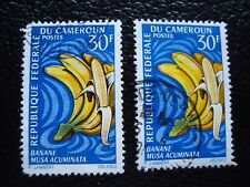 cameroon - stamp yvert and tellier n° 449 x2 obl (A33) stamp cameroon (B)