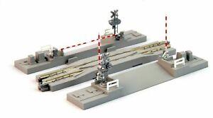 "Kato N Scale UNITRACK ~ Crossing Gate & Rerailing Track 4 7/8"" 124mm ~ 20-027-1"