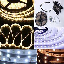 1-20m LED Stripe 3528SMD Strip Streifen Band Leiste Licht Netzteil Fernbedienung