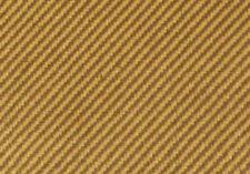 Tweed fabric woven  brown strip coated 36x36 inch  DIY repair amp speak cabinet