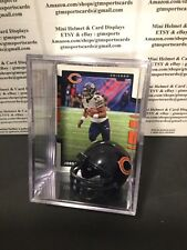 Jordan Howard Chicago Bears Mini Helmet Card Display Collectible RB Auto