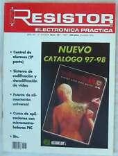 RESISTOR - REVISTA DE ELECTRÓNICA APLICADA - Nº 161 OCTUBRE 1995 - VER SUMARIO