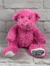 "Hershey's Bubble Yum Pink Bear 10"" Plush Stuffed Animal Bubble-Gum Toy"