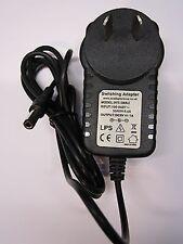 Aus 9v AC-DC Power Adaptador Cargador Para Casio Tone Bank Keyboard Modelo ma-101 / 201