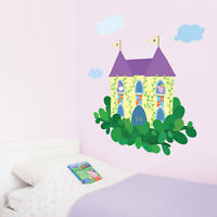Princess Peppa Pig castle wall sticker pack | Official Peppa wall stickers
