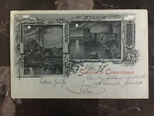 1898 Constantinople Turkey Russia Post Office Postcard Cover to Germany
