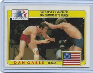 1983 TOPPS OLYMPIC DAN GABLE CARD #5 ~ USA / IOWA STATE WRESTLING LEGEND ~ QNTTY