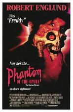 The Phantom of the Opera Robert Englund Original 27x41 S/S Movie Poster 1989