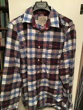 Jack Wills Shirt Red And Blue Check
