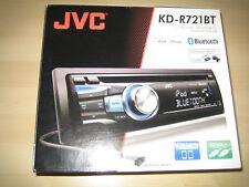 JVC KD-R721BT 1DIN Autoradio mit Bluetooth, CD, USB, gebraucht, funktionsfähig