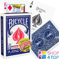 BICYCLE RIDER BACK STRIPPER CARDS DECK MAGIC TRICKS PLAYING POKER BLUE DECK NEW