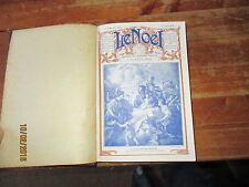 REVUE LE NOEL reliure semestrielle janvier a juin 1929 26 numeros bonne presse